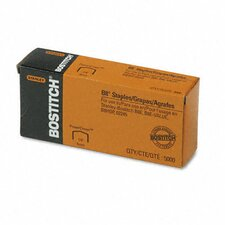 Full Strip B8 Staples, 5,000/Box