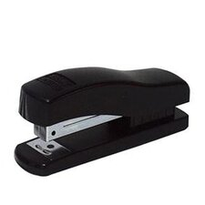 "Half Strip Stapler, Rounded Base, 7-1/2""x1-3/4""x6-1/2"", Black"