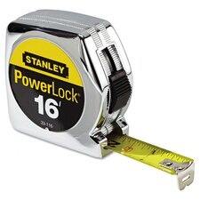 Plastic 16' PowerLock Tape Measure