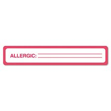 Medical Labels for Allergy Warnings, 175/Roll