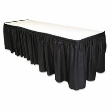 Table Set Linen-Like Table Skirt