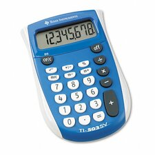 TI-503SV Pocket Calculator 8-Digit LCD