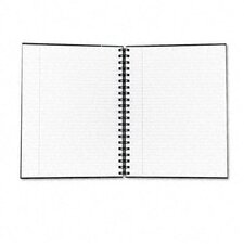 Royale Business Hardcover Notebook, Legal Rule, 8 X 10-1/2, White, 96 Sheets