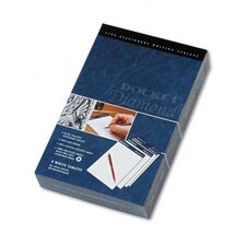 Docket Diamond Junior Legal Ruled Pads, 4 50-Sheet Pads/Box