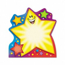 Note Pad with Super Star Design, 50 Sheets/Pad
