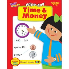 Time & Money 28pg Wipe-off Book