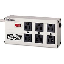 Isobar Surge Suppressor, 6 Outlets, 6 ft Cord