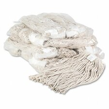 Premium Cut-End Wet Mop Heads, Cotton, 20-Oz., 12/Carton