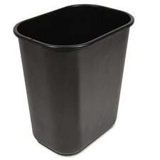 Soft-Sided Wastebasket in Black