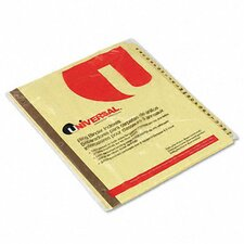Preprinted Plastic-Coated Tab Dividers, 25/Set
