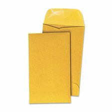 Kraft Coin Envelope, #7, 500/Box