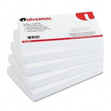 Unruled Index Cards, 500/Pack