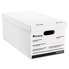 Lift-Off Lid File Storage Box, 4/Carton