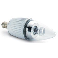 25W Warm White (2700K) LED Candle Lamp Bulb