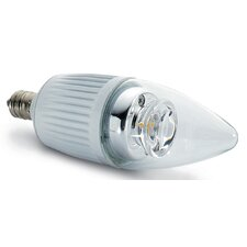 40W Warm White (2700K) LED Candle Lamp Bulb