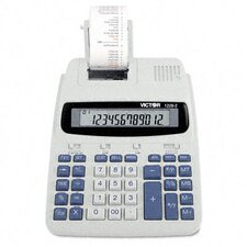 Roller Printing Calculator, 12-Digit Lcd