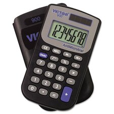 Antimicrobial Pocket Calculator, 8-Digit Lcd