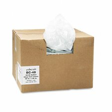 Classic Clear Clear Low-Density Can Liners, 40-45 Gal, .6 Mil, 40 X 46, 250/Carton