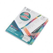 Multi-Dex Quick Reference Index, 31-Tab, Letter (Set of 31)