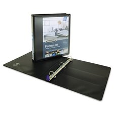 "Professional Plus Lock No-Gap View D-Ring Binder, 1"" Capacity"
