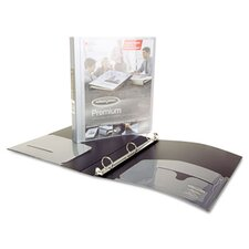 "Flexible Poly Round Ring View Binder, 11 X 8-1/2, 1"" Capacity"