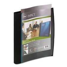 Smart-View Multi-Ring Presentation Book, 12 Letter-Size Sleeves