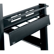 "19"" W Hinged Horizontal Cable Manager"