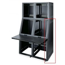 Convective Series™ Top Monitor Rack Side Panels, 17 Degree Slope