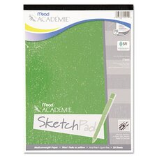 Academie Sketch Pad, 9 x 12, White, 50 Sheets