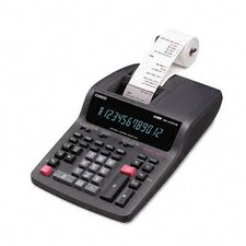 DR-270TM Desktop Calculator, 12-Digit Digitron, Two-Color Printing