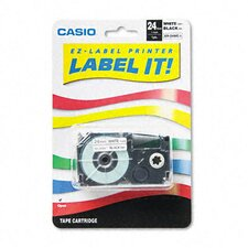 Tape Cassette For Kl8000/Kl8100/Kl8200 Label Makers, 24Mm X 26Ft