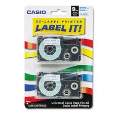Tape Cassettes for Kl Label Makers, 9Mm X 26Ft, 2/Pack