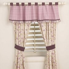 Sugar Plum Window Tab Top Drape Panel Pair