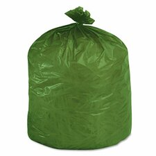 Eco-Degradable Plastic Trash Garbage Bag, 33 Gal, 1.1Mil, 33X40, 40/Box