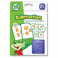 Leapfrog Subtraction Flash Card