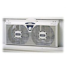 "8"" Reversible Twin Window Fan"