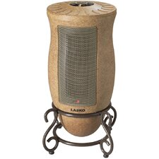 1,500 Watt Ceramic Tower Space Heater with Adjustable Thermostat