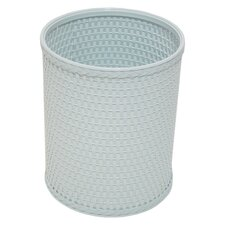 Chelsea Decorator Color Round Wicker Wastebasket