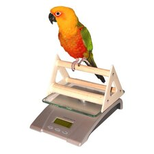 Deluxe Digital Small Animal and Aviary Scale with Perch