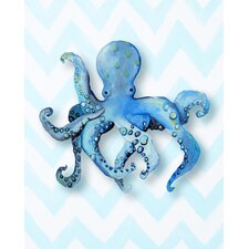 Nautical Octopus Giclée Canvas Print