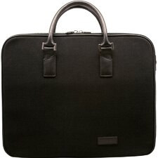 Canvas Business Cases Double Zip Briefcase