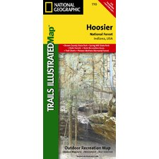 Trails Illustrated Map Hoosier National Forest