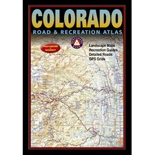 Benchmark Colorado Road & Recreation Atlas, 3rd Edition