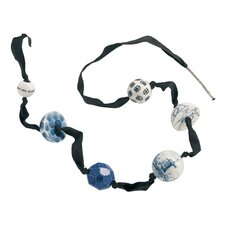 Pearl Necklace in Blue Collection by Alexander van Slobbe