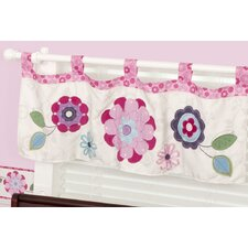 Daniela Tab Top Tailored Curtain Valance