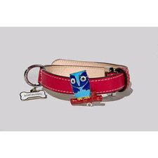 Owl Collar in Red