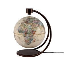 "8"" Levitating Globe in Antique"