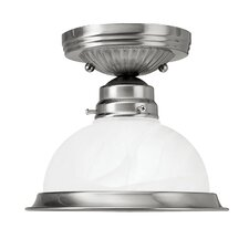 "6.25"" 1 Light Semi Flush Mount"