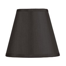 Hardback Clip Chandelier Shade in Black