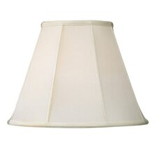 Shantung Silk Empire Lamp Shade in Off White